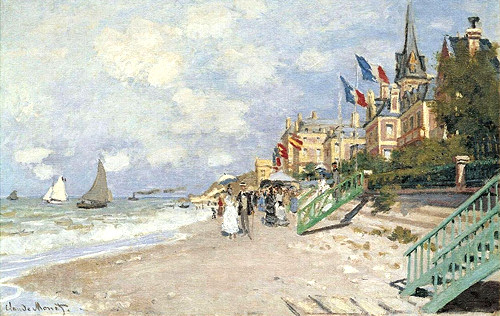 11 - The Boardwalk on the Beach at Trouville1