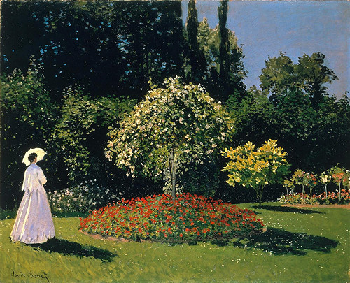 4 - Jeanne-Marguerite Lecadre in the Garden1