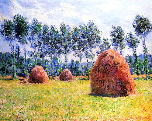 Haystacks at Giverny1
